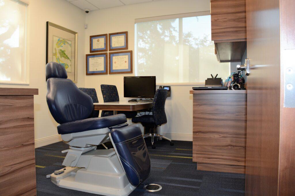 Freeman Orthodontics New Patient Exam Room