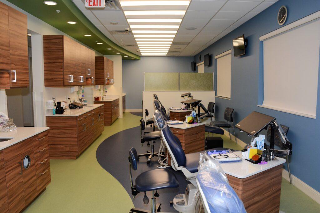 Freeman Orthodontics Clinical Operatory