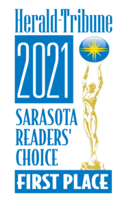 Herald Tribune 2021 Sarasota Readers' Choice First Place