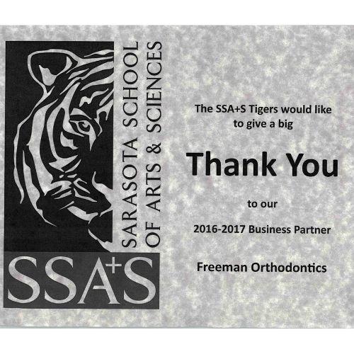 Sarasota School of Arts & Sciences Freeman Orthodontics