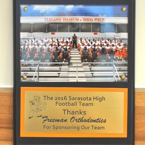Sarasota High School Sponsor Freeman Orthodontics