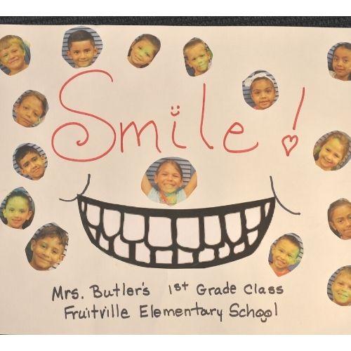 Thank You Card Freeman Orthodontics Fruitville Elementary
